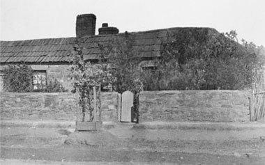 Knevett's house, Chapel Street, Burra, where Mass was later celebrated