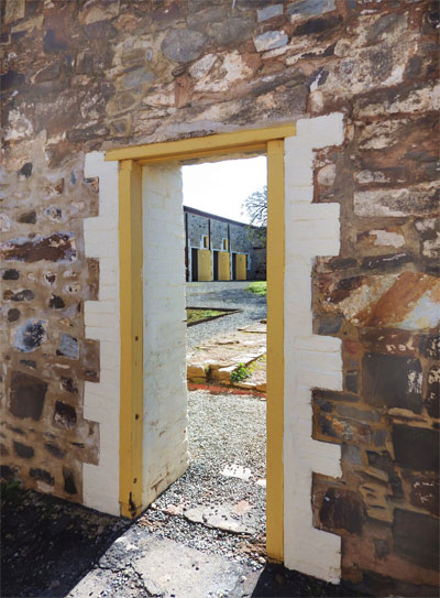 Built in 1856 Burra's Redruth Gaol was the first gaol built outside of metropolitan Adelaide